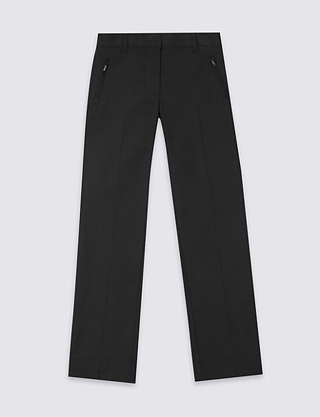 Girls' Slim Leg Plus Fit Trousers