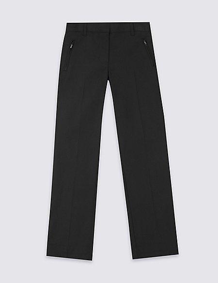 Girls' Plus Fit Slim Leg Trousers