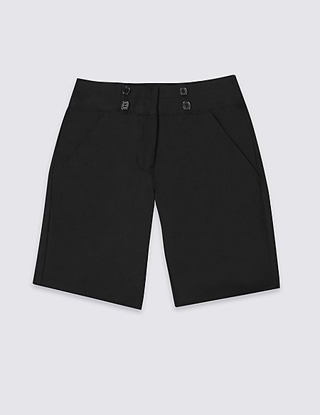 Girls' Shorts with Adjustable Waist