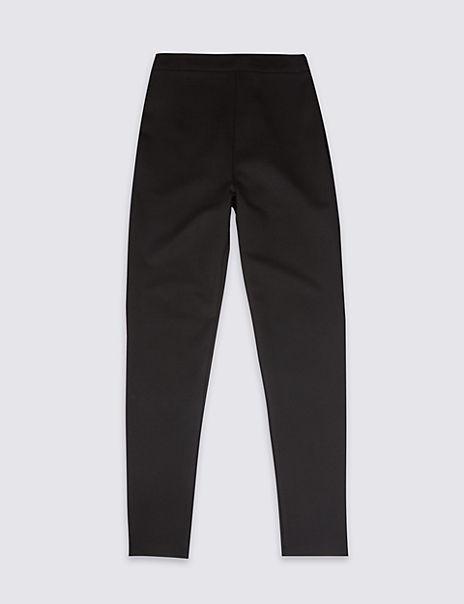 Senior Girls' Skinny Leg Jersey Trousers