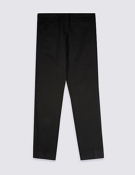 Senior Girls' Plus Fit Skinny Leg Trousers