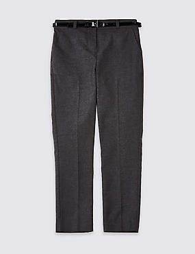 Girls' Plus Fit Skinny Leg Trousers