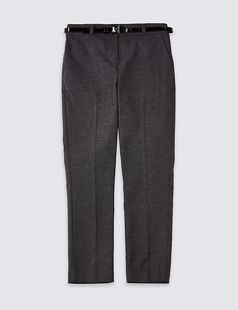Girls' Skinny Leg Longer Length Trousers