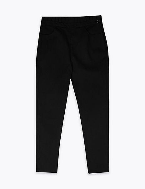 Senior Girls' Skinny Leg Trousers