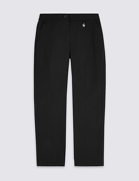 Girls' Slim Leg Trousers