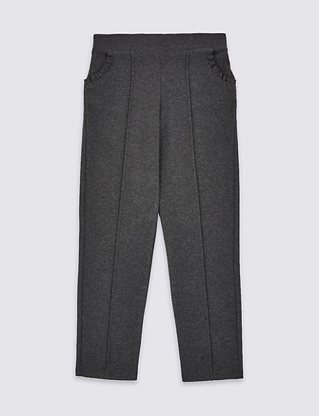 Girls' Jersey Slim Trousers