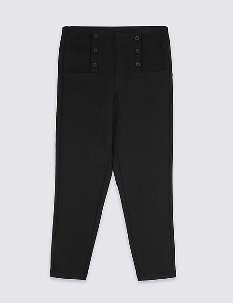 Girls' Skinny Leg Regular Fit Trousers