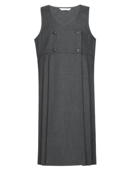 Girls' Double Breasted Pinafore with Triple Action Stormwear™