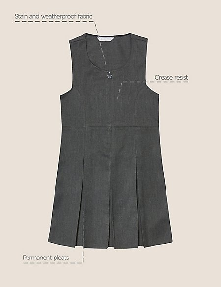 Girls' Plus Fit Pinafore