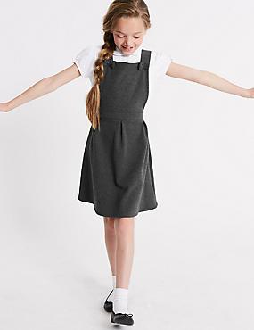 Junior Girls' Knitted Pinafore