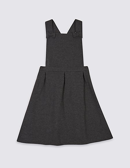 Junior Girls' Knitted Pinafore