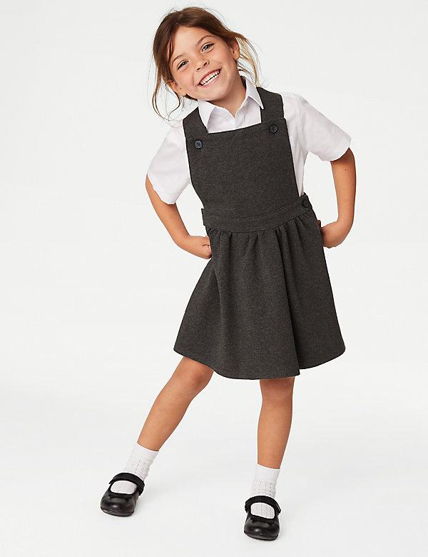 Robe chasuble en coton, idéale pour l'école (du 2 au 12ans)