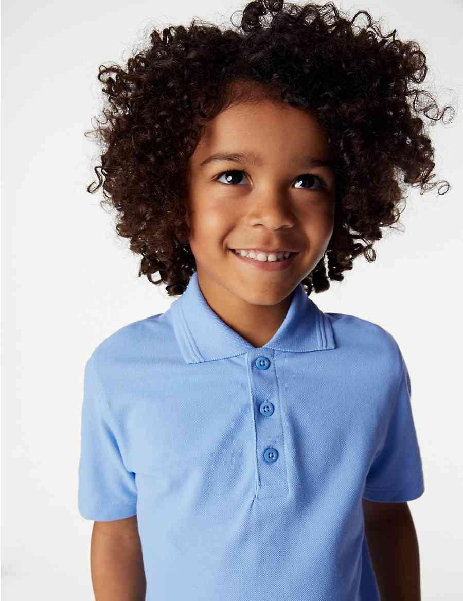 f36268e513e45 2 Pack Boys  Stain Resist Polo Shirts