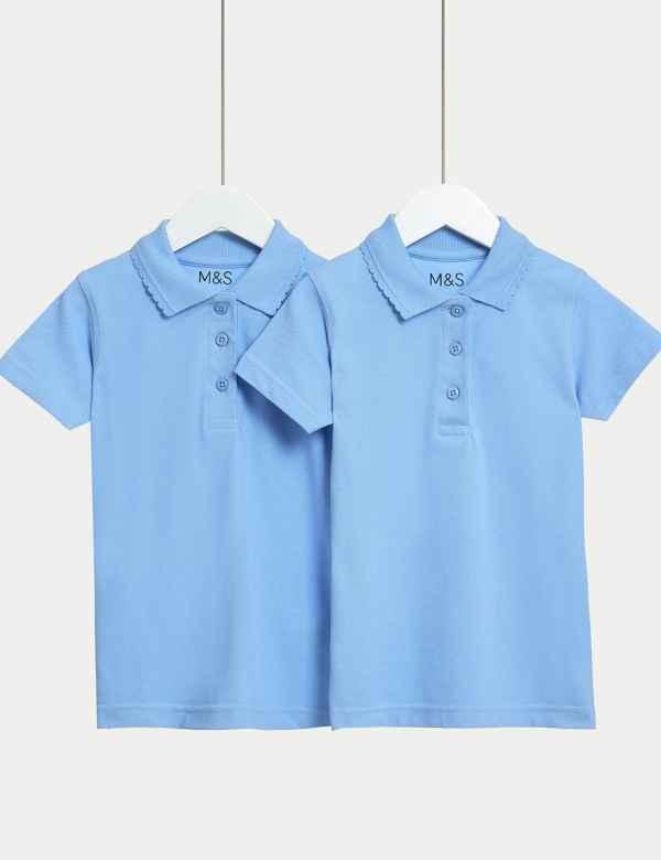 <b>Girls</b>' School Shirts, Blouses & Polo Shirts | M&S