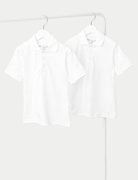 2 Pack Unisex Skin Kind™ Polo Shirts