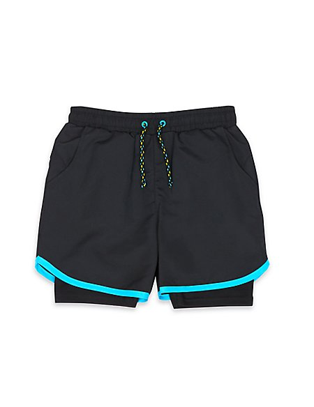 Boys' 2in1 Sport Shorts with Active Sport™