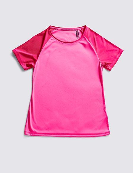 Raglan Sleeve Top with Active Sport™ (Older Girls)