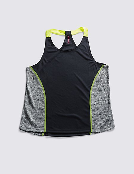 Colour Block Sports Vest with Cool Comfort™ Technology
