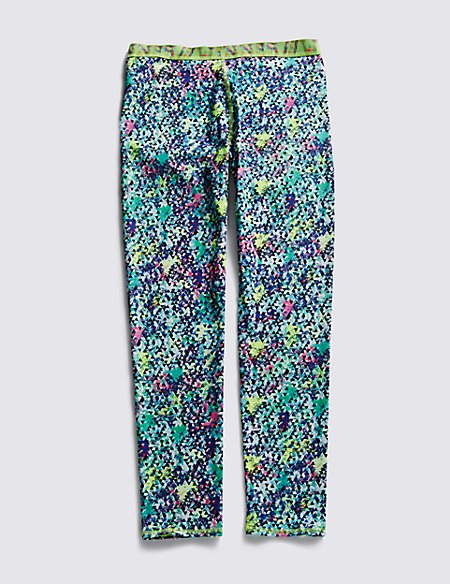 Printed Sports Leggings with Cool Comfort™ Technology