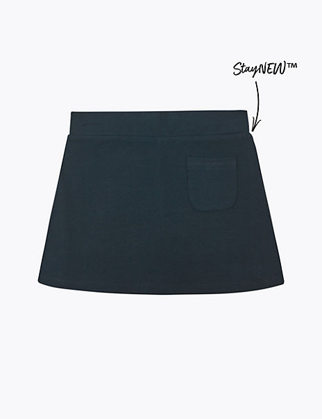 Girls' Cotton with Stretch Sports Skorts