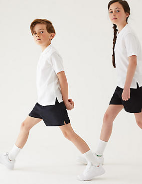 2 Pack Unisex Pure Cotton Shorts