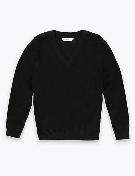 Unisex Wool Blend Jumper
