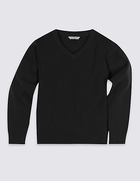 Unisex Cotton Rich Jumper