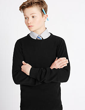 Senior Boys' Slim Fit Jumper