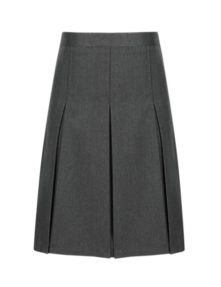 Traditional Pleated Skirt with Permanent Pleats in Longer Lengths