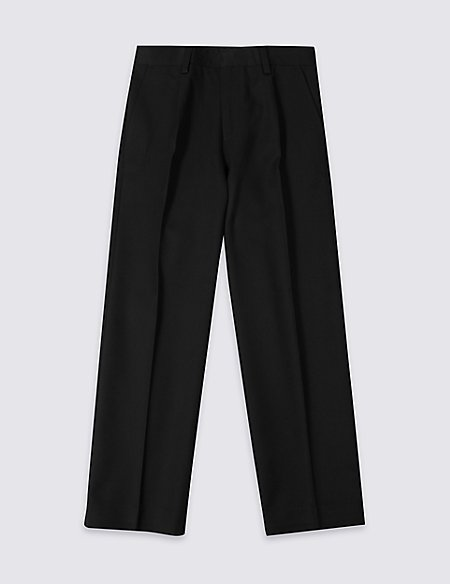 Boys' Pleat Front Trousers
