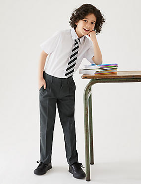 Boys' Plus Fit Regular Leg Trousers