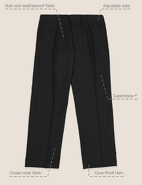 Boys' Regular Leg Plus Fit Trousers