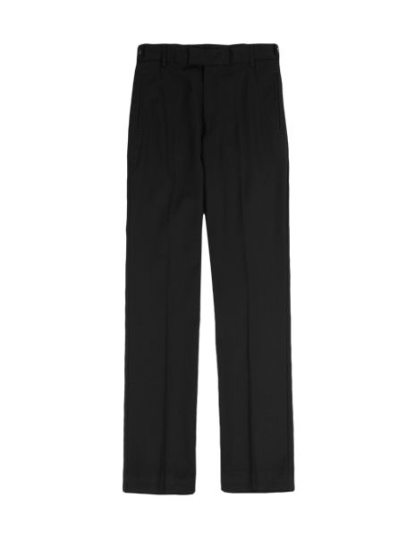 Senior Boys' Supercrease™ Wool Rich Slim Leg Trousers with Triple Action Stormwear™ & Adjustable Waist (Older Boys)
