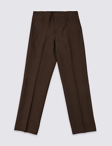 Boys' Slim Leg Regular Fit Trousers