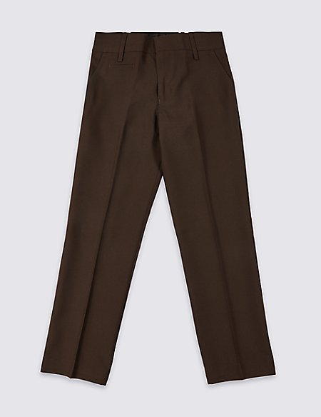 94c18ef6888 Boys  Slim Leg Trousers