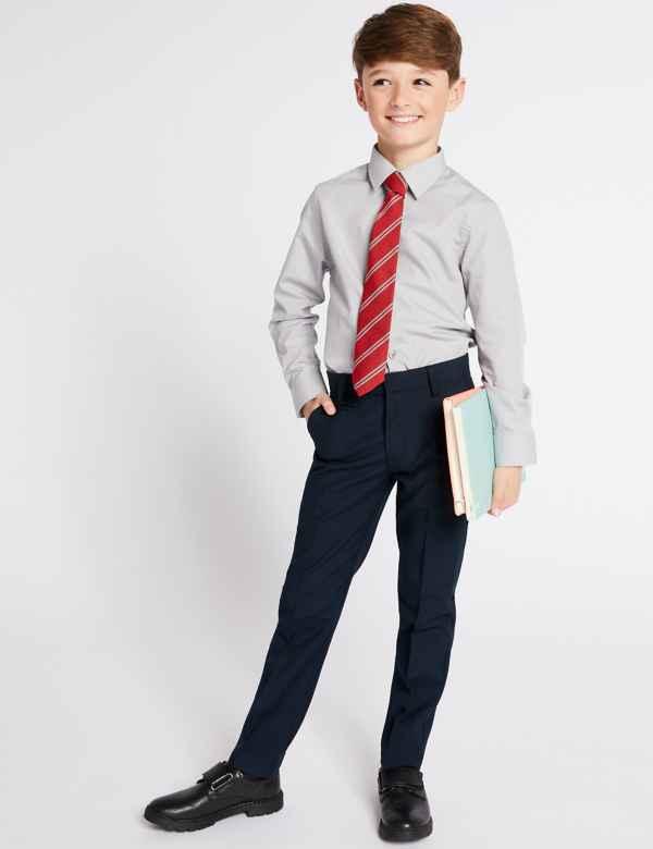 3ee4956a Boys School Trousers & Shorts | Skinny School Trousers | M&S