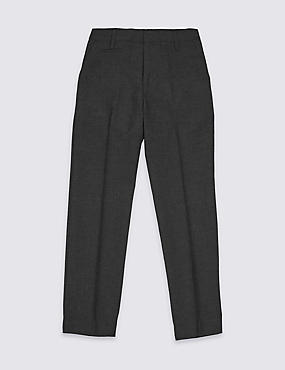 Boys' Plus Fit Slim Leg Trousers
