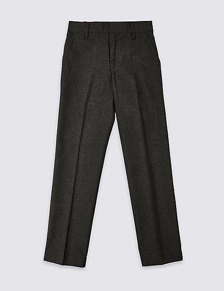 Boys' Slim Fit Slim Leg Trousers