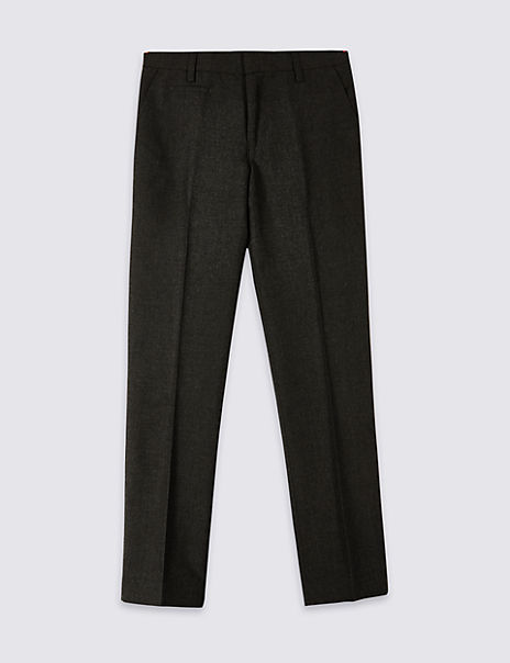 Boys' Skinny Leg Slim Fit Trousers