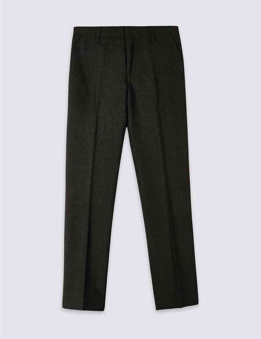 a4f170b5ff9 Boys  Slim Fit Skinny Leg Trousers
