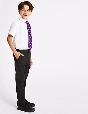 Boys' Slim Fit Skinny Leg Trousers