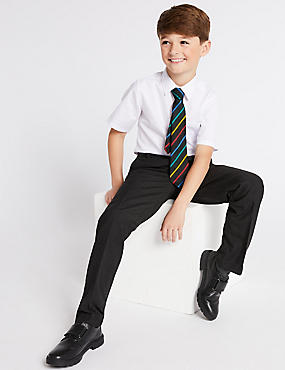 Boys' Longer Length Slim Leg Trousers