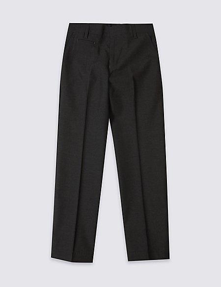 Boys' Longer Length Slim Leg Trousers