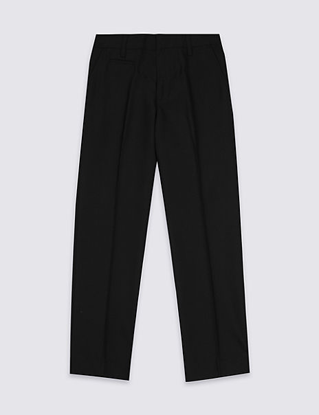 Boys' Slim Leg Longer Length Trousers