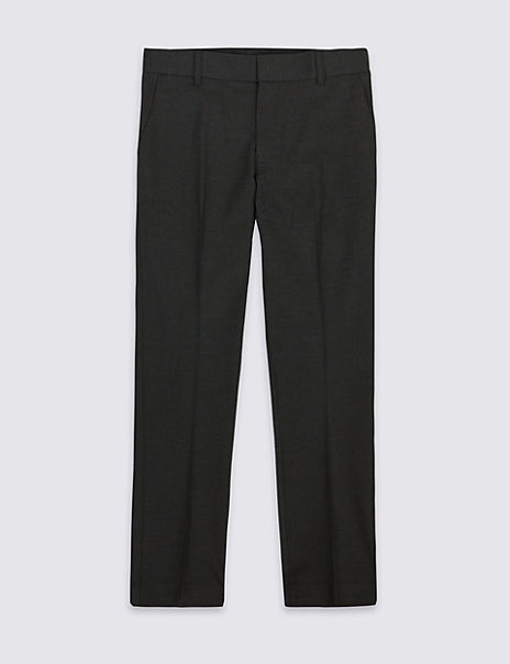 Senior Boys' Skinny Leg Regular Fit Trousers