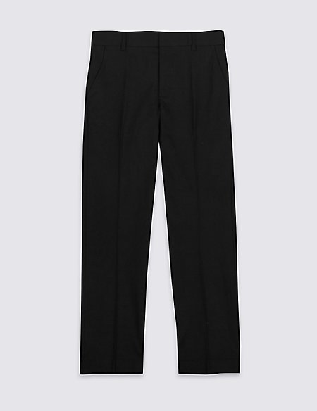 Senior Boys' Plus Fit Slim Leg Trousers