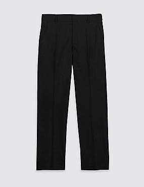 Senior Boys' Plus Fit Slim Leg Trousers