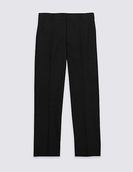 Senior Boys' Longer length Slim leg Trousers