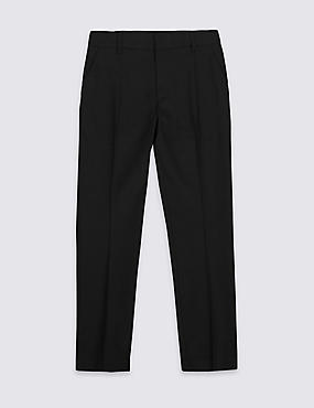 Senior Boys' Plus Fit Skinny Leg Trousers