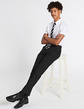 Senior Boys' Longer Skinny Leg Trousers